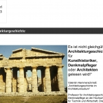 Architekturgeschichte 2013