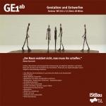Gestalten und Entwerfen 1 WS 2011-12